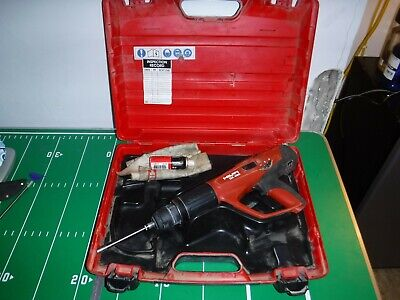 Hilti Dx 460 X-460-fie-l Tool And Attachment W Case Powder Actuated Nailer Nail