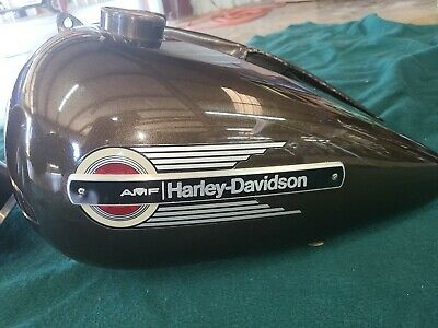 Harley Davidson FLH Shovelhead Tank and Fenders with Original Paint.