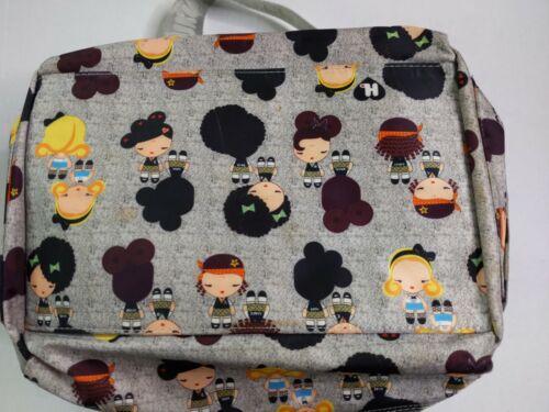 Harajuku Lovers Gwen Stefani Gray Gym Travel Duffle Bag - $29.99