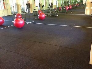 A1 Rubber Impact Gym Tiles Mats Perth WA - no toluene emissions West Perth Perth City Area Preview