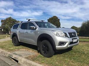 2016 Nissan Navara Dual Cab, Canopy, Roof Racks, Tow Bar, Alloys Hamlyn Heights Geelong City Preview