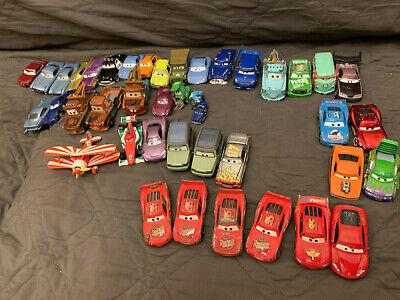 Disney Pixar Cars Diecast Loose Lot 40 cars Including Sarge and Miles Axlerod