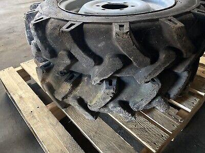 6.00 - 16 Ag Tires Rims 6 Lug 4-14 Center Hole 5-58 Center To Center Stud