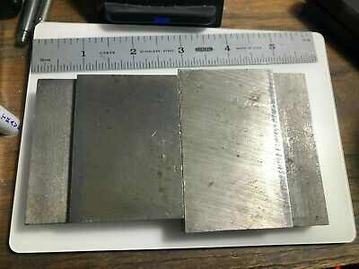 Vintage Small Set Of Machinist Parallels Parallel Bars Mill Jig Fixture 628