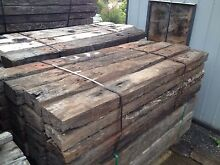 A grade / 1 st grade railway sleepers  delivery service available Logan Area Preview