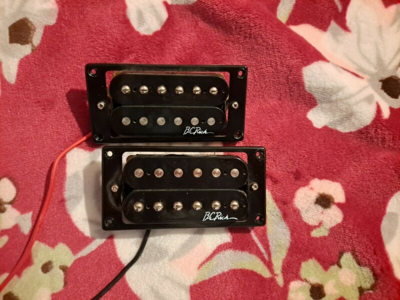 COOL BC B.C. Rich Humbucker Pickup Set Black Neck + Bridge