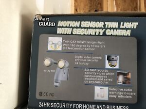 Smart security camera with memory card .. never used .