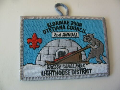 BSA Boy Scout  Greece Canal Park  Rochester NY Patch NOS New Stock Free Shipping