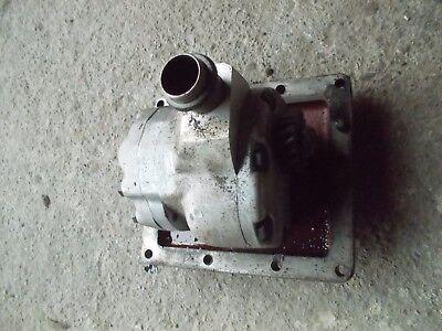 International 504 Utility Ih Tractor Good Working Hydraulic Pump W Drive Gear