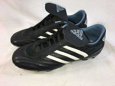 cdec93096 Adidas Traxion Firm Ground Soccer Cleats Blue White Size Youth 5.5