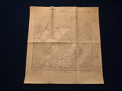 Landkarte Meßtischblatt 2124 Hörnerkirchen, Bokel, Brande, Lutzhorn, um 1945
