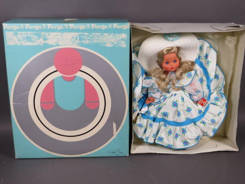 """Vintage 17"""" Furga Gigliola 45 Doll #5111"""