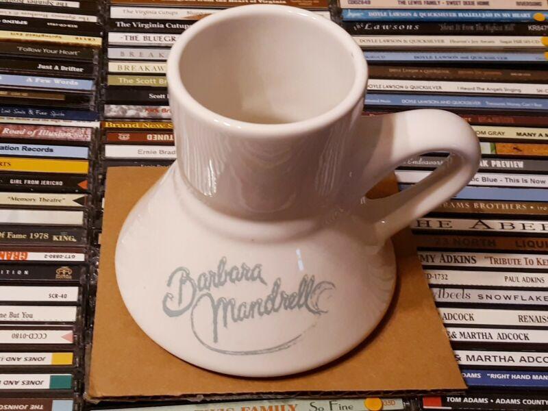 Vintage Barbara Mandrell Unusual cup mug ceramic