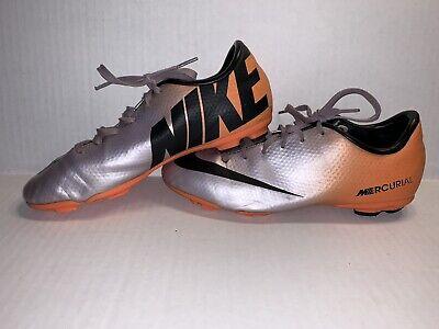 viudo Intención defensa  Nike JR Mercurial Victory IV FG Soccer Cleats 553631 168 Orange/White Youth  Szs toupagroup.com