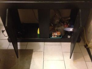 75 g tank w/ stand & dragon. Everything you need London Ontario image 3