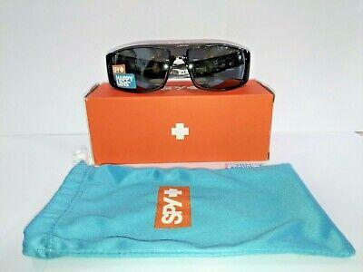Spy Optic Logan Wrap Sunglasses, 60 mm (Clear Smoke/Happy (Logan Sunglasses Spy Optic)