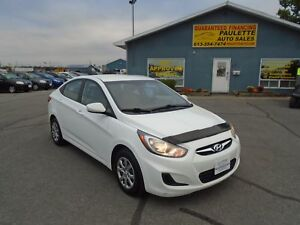 "2012 Hyundai Accent ""GUARANTEED FINANCING BE APPROVED TODAY"""