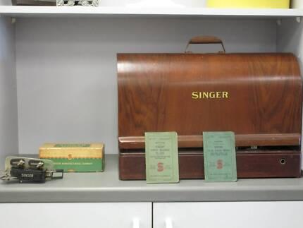 Singer Seawing Machine 201K VINTAGE 1947