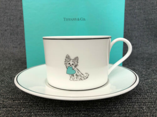 Tiffany & Co. Yorkie Cup and Saucer Set