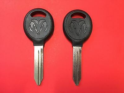 1994-2007 DODGE RAM 1500 2500 3500 Y159 KEY BLANK RAM LOGO NO CHIP NEW!