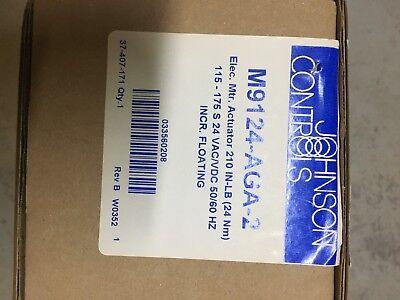 Johnson Controls Mod Valve Elc. Mtr. Actuator 210inlb 24 Vacvdc