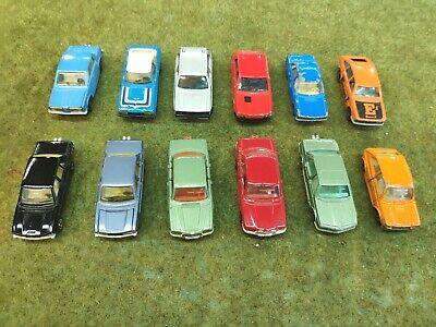 Majorette Miniature Diecast pack / lot de 12 voitures Peugeot BMW Mercedes Golf