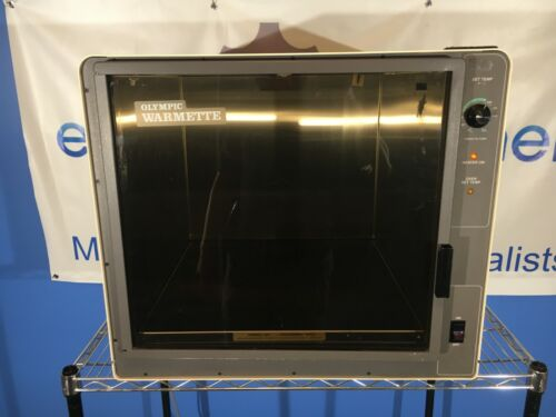 Olympic warmette #56920 warming cabinet. fully functional