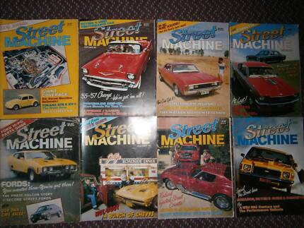 Street Machine Car magazines x 350 collection 1982 onwards Alexandra Headland Maroochydore Area Preview