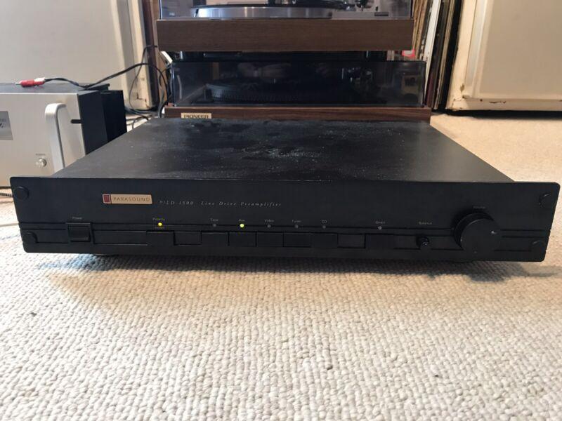 Parasound P/LD -1500 Line Drive Pre amplifier