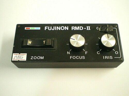 FUJINON RMD-II 12-Pin LENS CONTROLLER UNIT w/ Servo Focus, Iris Control, & ZOOM