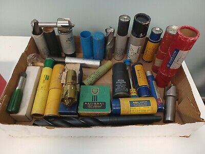 Drill Tool End Mill Lot Many Brand New Many Diff Sizes