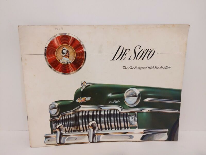 1949 De Soto Large Brochure Sedan Club Coupe Convertible Suburban