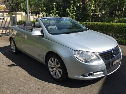 2007 Volkswagen Eos Convertible - Perfect for summer and all year Killara Ku-ring-gai Area Preview