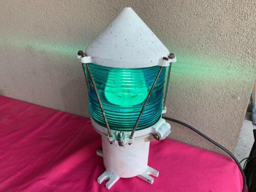 Vintage U.S. Coast Guard Navigational Buoy Light Lantern