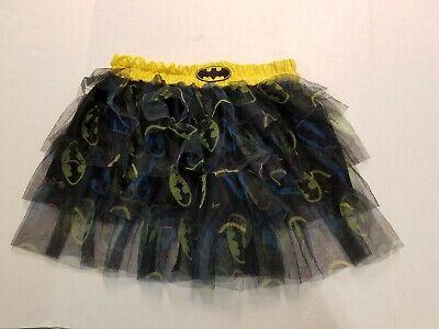 Batman Tutu Skirt Women Teen Girl Superhero Fancy Dress Up Halloween - Batman Girl Kostüm