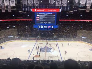 Leafs vs Bruins- 2 or 4 Tickets- Meet by Arena