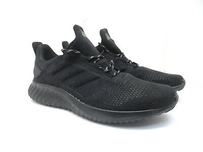Adidas Men's Alphabounce CR Athletic Shoe CG4674 Black 11.5M or Women's 12.5M