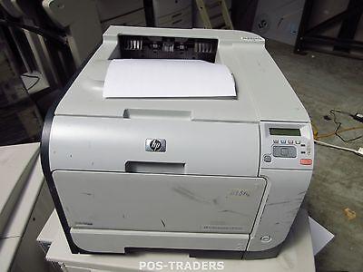 HP CP2025N CB494A A4 Colour Laser Printer 20ppm 600DPI USB + LAN 61874 PRINTS