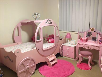 Girls Princess Bedroom Suite / Package