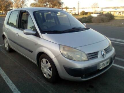 2003 Renault Scenic Expression Cosmic Grey 5 Speed Manual Wagon