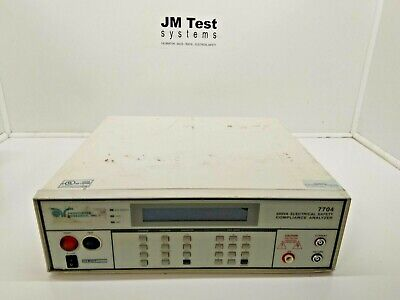 Associated Research 7704 500va Electrical Safety Compliance Analyzer Hypot Br