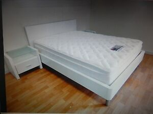 White double bed +side tables +mattress SYD DELIVERY &  ASSEMBLY Windsor Hawkesbury Area Preview