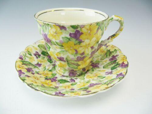 "James Kent Cup & Saucer ""Primula"""