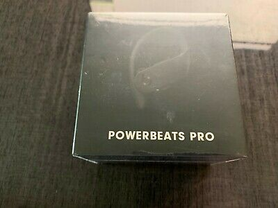 Powerbeats Pro MV6Y2LL/A Wireless Earphones Apple Black by DR Dre NEW 2019