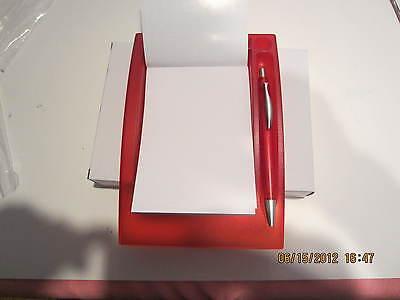 Wholesale Lot 10 Desk Memo Pad With Pen- Redgift Boxes Great Deal