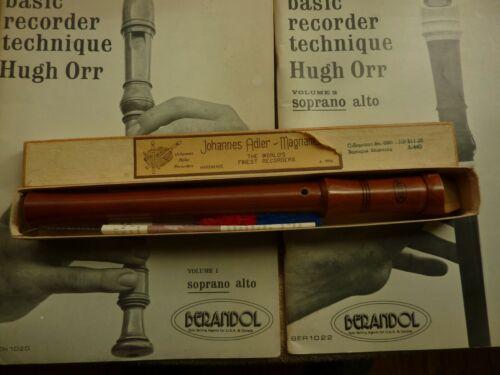 Johannes Adler Magnamusic Recorder C-Soprano Baroque Fingering A:440