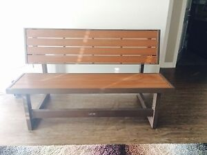 Modern bench and picnic table - convertible, outdoor/indoor use