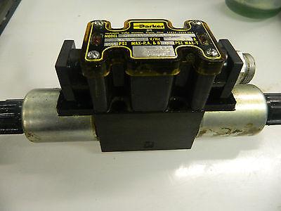 Parker Hydraulic Valve, D1VW20DNJCL56 75, 3000 psi, 24V, Used, Warranty