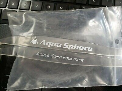 Spare strap for Aqua Sphere Seal mask (clean) Ships in 24 (Cleaning Swim Goggles)