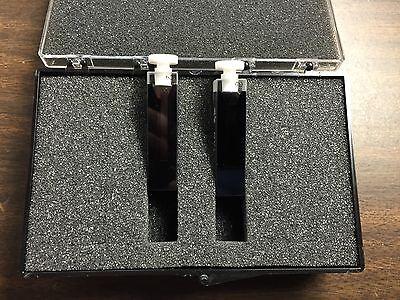 Varian-agilent Quartz Semi-micro Cuvette Cell 0.9 Ml Stoppered Matching 2-pk
